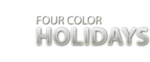 Four Color Holidays